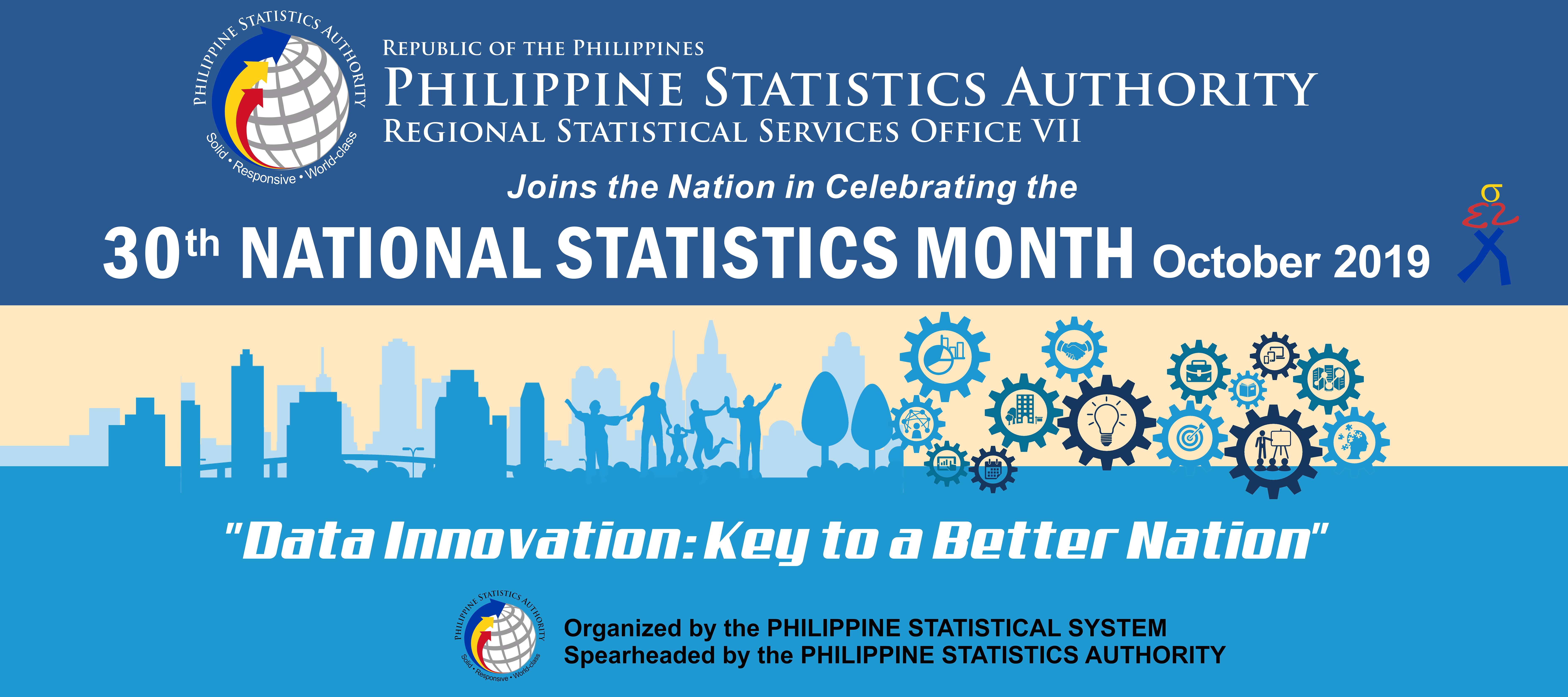 30th National Statistics Month