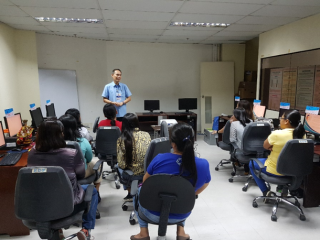 PSA RSSO VII conducts 2nd Level Training on the 2019 FLEMMS Machine Processing