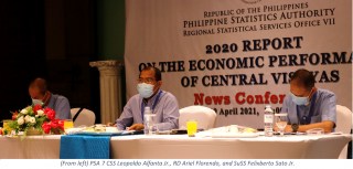 Central Visayas Economic Performance declines by 9.9 percent in 2020
