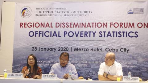 2018 Poverty Incidence among Families in Central Visayas decrease at 11.5 percent